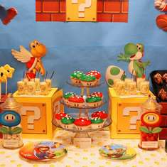 Mario Bros Birthday Party! - MARIO BROS