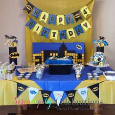 Elijah's Birthday Party - Batman Theme Birthday Party