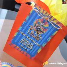 Afro Circus Birthday Party - Madagascar 3