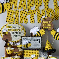Bradford's 1st Beeday - Bumble Bee Party