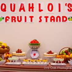 Fruit Themed Birthday Party - Fruit Themed