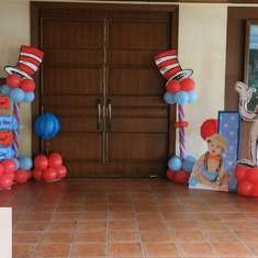 Easton's 1st Birthday - Dr. Suess