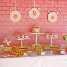 Avery's Three Little Pigs Party - None