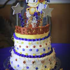 Bryant's Super Sonic 6th Birthday - Sonic the Hedgehog