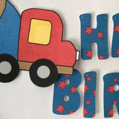 Dump Truck Birthday - Construction party