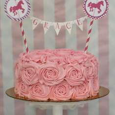 Carousel Birthday - Pink Girl Party