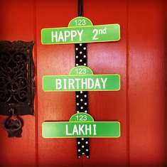 Lakhi's Elmo 2nd Birthday - Elmo