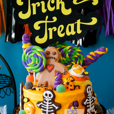 Whimsical Halloween Candyland - Halloween, Candyland, Candy Land, Candy Shoppe