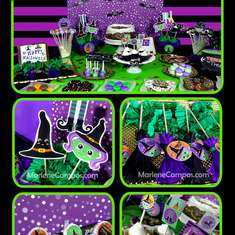 Bewitched Party Set - Halloween Party