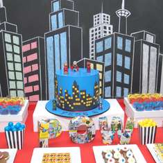 Super Fede´s birthday - Super Heroes