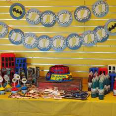Super Hero Fourth Birthday - Super Heros
