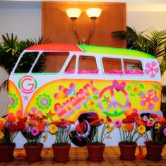 Bat Mitzvah - 60's  Hippie Theme