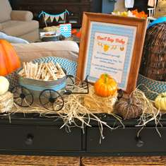 Lil' Pumpkin Boy - Pumpkin Baby Shower