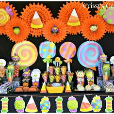 Sweet and Friendly Halooween - Candyland