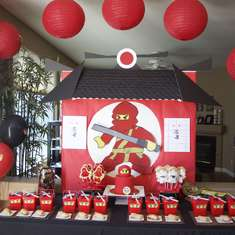 Logan's Ninjago Party - Lego Ninjago