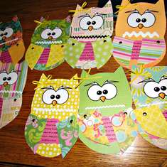Owl Birthday Party - Owls