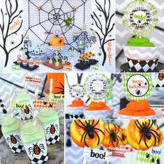 EEK-O-Ween Halloween Party - Halloween Tablescape for Kids