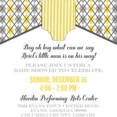 Little Man Baby Shower - Little Man