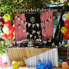 Pirate Themed 1st Birtday Party - Pirate Party