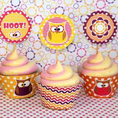 Owl Girl Birthday Party - Owls