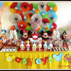 Ashley's 1st Birthday - Mickey Mouse Clubhouse Party