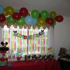 Mickey's Clubhouse 1st Birthday - Mickey Mouse Clubhouse