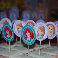 Sofia's Disney Princess Party - Disney Princess Party