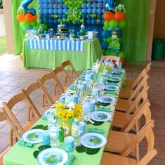 {A Froggy Birthday} - Frogs