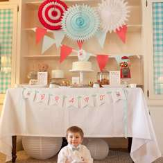 Vintage Bear First Birthday Party - Vintage bear