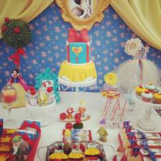 Snow White Party Francceesca 4 años - Snow White