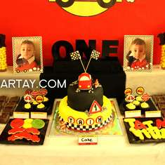 Cars Themed 1st Birthday - Cars