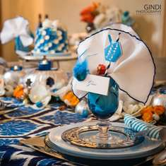 """THANKSGIVUKKAH"" TABLE AND DECOR-SYRIAN STYLE! - ""THANKSGIVUKKAH"""