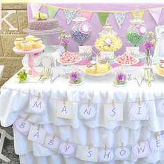 Mansi's Pastel Vintage Baby Shower - Vintage Tea Party