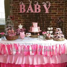 joann's baby shower - Owls