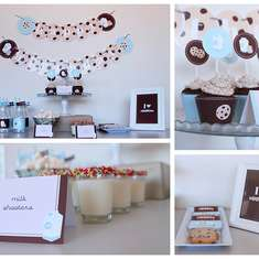 Cookies & Milk Birthday Party - Cookies & Milk