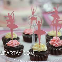 Winter Ballerina Birthday Party - Ballerina