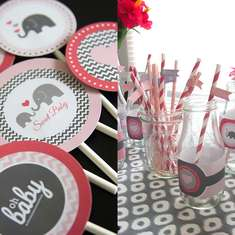 Tresea's Oh Baby Elephant Shower - Elephants