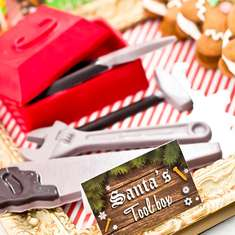 Santa's Workshop Party  - Christmas Party Holiday Party