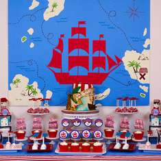 Pirate Themed Birthday Party - Pirate
