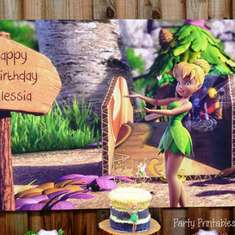 Alessia's Tinkerbell 6th Birthday - Tinkerbell