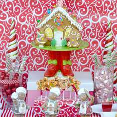 Gingerbread House Decorating Party - Gingerbread House