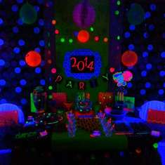 Neon New Years Party (Black Light) - Neon New Years