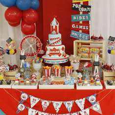 Vintage Carnival 1st Birthday Party - Vintage Carnival