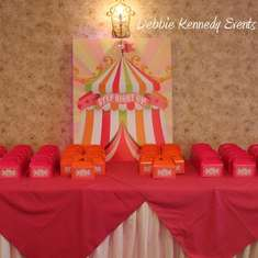 2nd birthday Party - Pink & Orange Circus