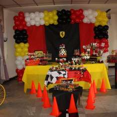 Milad's Grand Prix Ferrari 5th Birthday - Race Car