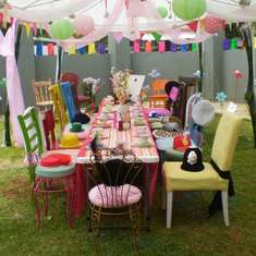 A colourful Mad Hatters Tea Party! - Alice in Wonderland, Mad Tea Party
