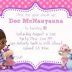 Girly Doc Mcstuffins Birthday Party - Doc Mc Stuffins