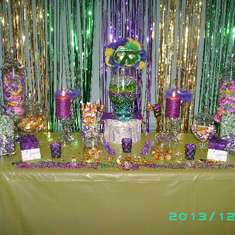 Bridget's 50th Birthday Party - Mardi Gras