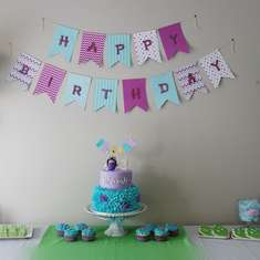 Aiyannah's Monsters Inc Birthday - monsters inc