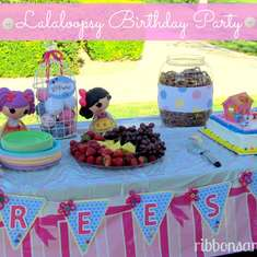Sew Cute Lalaloopsy Party - LalaLoopsy